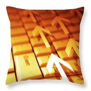 Abstract Background Throw Pillow by Carlos Caetano