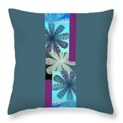 Abstract Fusion 149 Throw Pillow by Will Borden