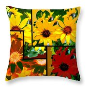 Abstract Fusion 99 Throw Pillow by Will Borden