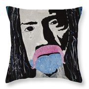 Acid Man Throw Pillow by Robert Margetts