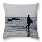 Acquaman Throw Pillow by Brian Roscorla