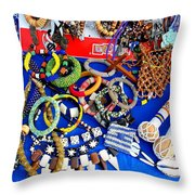 African Dreams Throw Pillow by Michael Durst