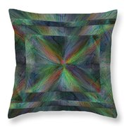 After The Rain 9 Throw Pillow by Tim Allen