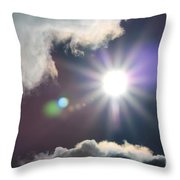 After The Storm Throw Pillow by J McCombie