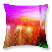 After The Storm Throw Pillow by Linda Sannuti