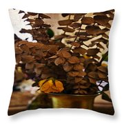 Afterglow Throw Pillow by Madeline Ellis