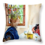 Afternoon Delight Throw Pillow by Leonardo Ruggieri