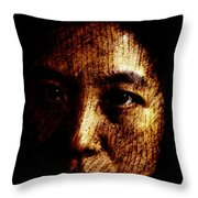 Ageless Throw Pillow by Christopher Gaston