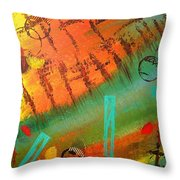 Aimless Throw Pillow by Lisa Williams