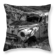 Air Conditioned By Bullet Throw Pillow by Bob Christopher