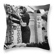 Air Force Crew, 1978 Throw Pillow by Granger