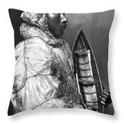 Alaska: Eskimo Throw Pillow by Granger