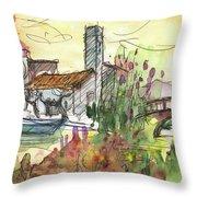 Albufera De Valencia 25 Throw Pillow by Miki De Goodaboom