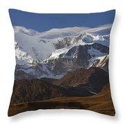 Allardyce Range, Cumberland East Bay Throw Pillow by Ingo Arndt