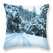 Almost There Throw Pillow by Heidi Smith