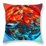 Alternate Realities 2 Throw Pillow by Angelina Vick