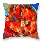 Alternate Realities 3 Throw Pillow by Angelina Vick