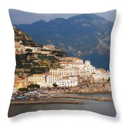 Amalfi Throw Pillow by Pat Cannon