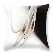 Amherstia Nobilis 2 Throw Pillow by Marilyn Hunt