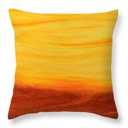 Amoreena's Tree Throw Pillow by Mark Minier