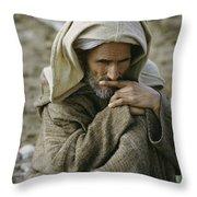 An Informal Portrait Of Throw Pillow by James P. Blair