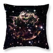 Animation Of A Supernova Explosion Throw Pillow by Harvey Richer