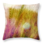 Another Field Of Dreams Throw Pillow by Judi Bagwell