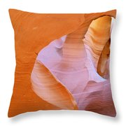 Antelope Canyon - Magnificent Play Of Light And Color Throw Pillow by Christine Till