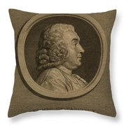 Antoine Deparcieux Throw Pillow by Granger