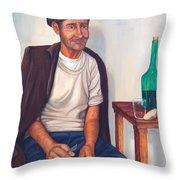 Antonio Throw Pillow by AnnaJo Vahle