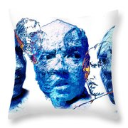 Anxiety And Alternate Universes Throw Pillow by Adam Long