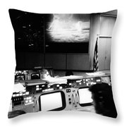 Apollo 11: Mission Control Throw Pillow by Granger