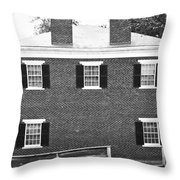 Appomattox Courthouse Throw Pillow by Teresa Mucha