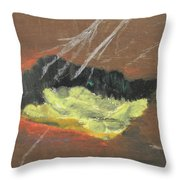Arab Spring Six The Requiem  Throw Pillow by Marwan George Khoury