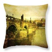Archaic Charm Throw Pillow by Andrew Paranavitana