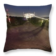 Arecibo Observatory In Puerto Rico Throw Pillow by Stephen Alvarez
