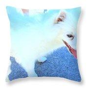 Aren't I Cute Throw Pillow by Randall Weidner