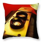 Argus Seventy Five Throw Pillow by Gabe Arroyo