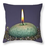 Aromatherapy Throw Pillow by Carolyn Marshall