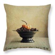Autumn Throw Pillow by Priska Wettstein