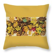 Autumn Splendor Throw Pillow by JQ Licensing