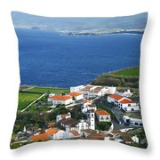 Azores Throw Pillow by Gaspar Avila