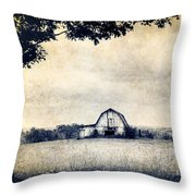 Back Roads Of Kentucky Throw Pillow by Darren Fisher