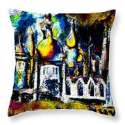 Baghdad  Throw Pillow by David Lee Thompson