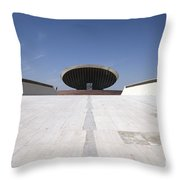 Baghdad, Iraq - The Ramp That Leads Throw Pillow by Terry Moore