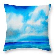 Bahamas Throw Pillow by Daniel Jean-Baptiste