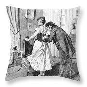 Balzac: Cousin Bette Throw Pillow by Granger