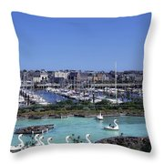 Bangor, Co. Down, Ireland Throw Pillow by The Irish Image Collection