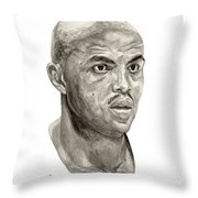 Barkley Throw Pillow by Tamir Barkan