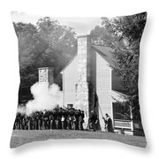 Battle Of Carnifax Ferry Throw Pillow by Thomas R Fletcher